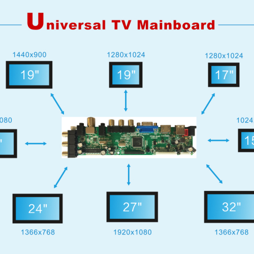 UNIVERSAL TV MAINBOARD
