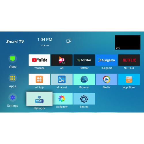 12v smart tv